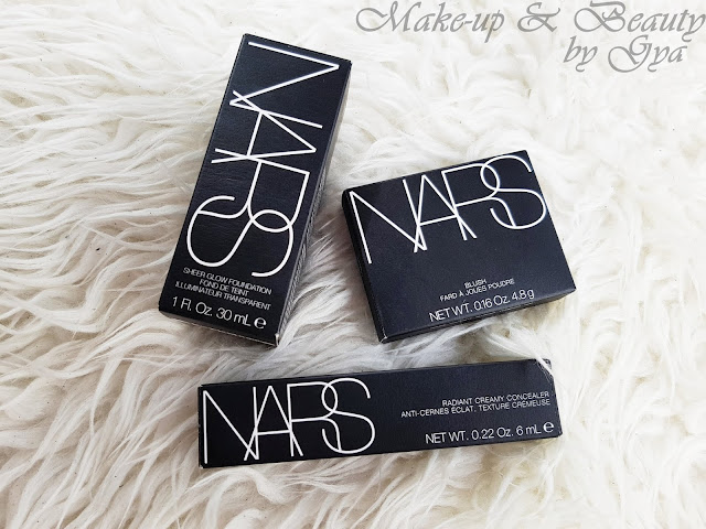 NARS - Orgasm | Sheer Glow Foundation | Radiant Creamy Concealer
