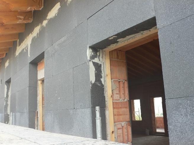 Isolamento edificio meglio xps o eps edilizia in un click - Colori intonaco esterno ...
