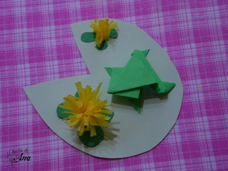 Cupcake e invitación del príncipe rana