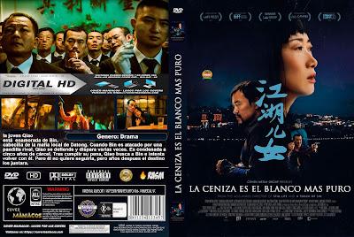 CARATULA LA CENIZA ES EL BLANCO MAS PURO - ASH IS THE PUREST WHITE - JIANG HU ER NV [COVER DVD]