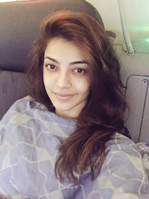 kajal agarwal at istanbul for song shoot