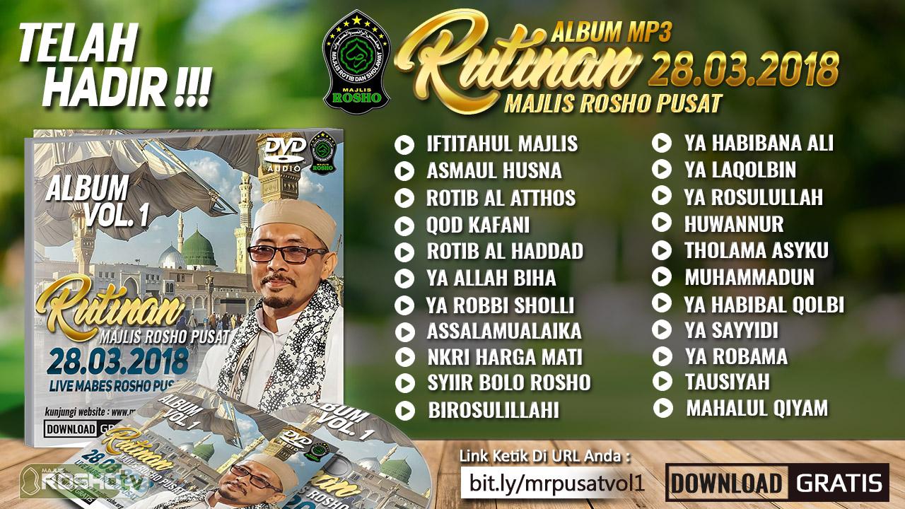 Download ALBUM mp3 Rutinan Majlis Rosho Pusat 28 03 2018
