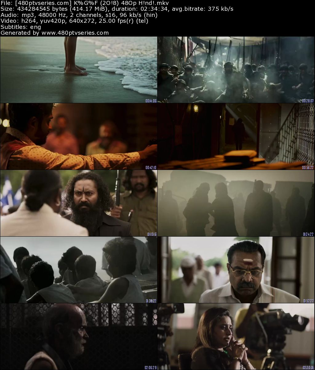KGF Chapter 1 (2018) Full Hindi Movie Download 480p 720p HDRip Free Watch Online Full Movie Download Worldfree4u 9xmovies