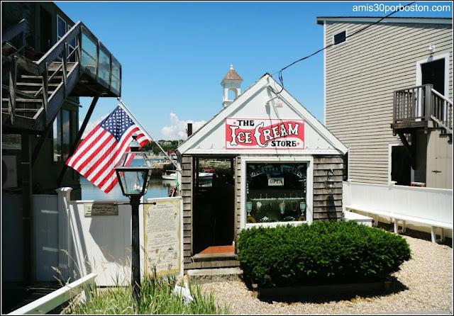 Pequeña Heladería en Rockport, Massachusetts