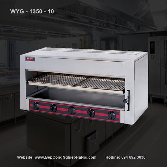 Lò nướng Salamander gas 5 họng đốt WYG - 1350