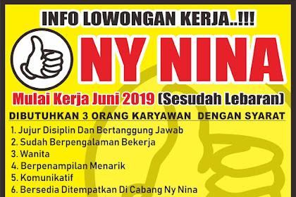 Lowongan Kerja Pabrik Kue Ny. Nina Tasikmalaya Gelombang ke-3