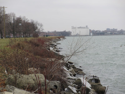 Detroit River on Belle Isle