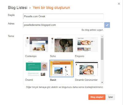 Bloggerdan Profesyonel Site Kurma
