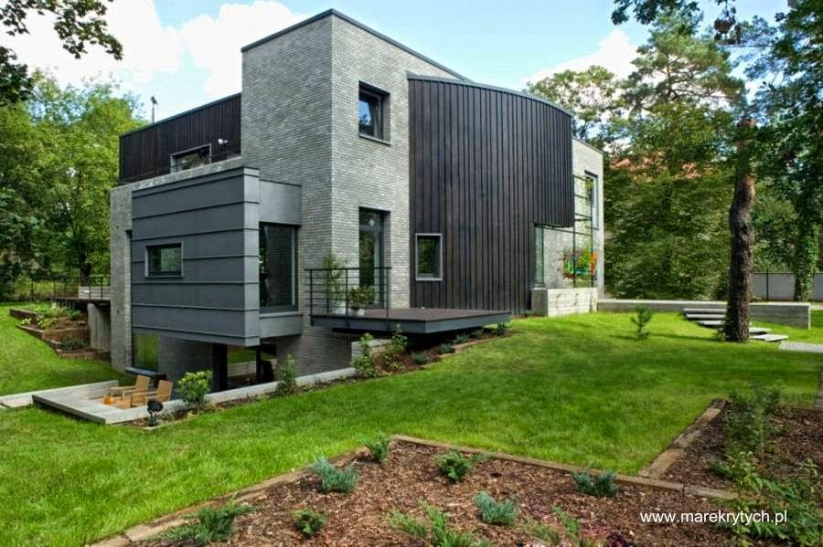 Casa residencial de diseño escultórico en Varsovia Polonia
