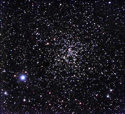 Open Cluster NGC 6819 in Cygnus - Image by Al Kelly.
