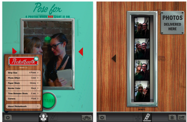 Pocketbooth- very Good Selfie App for Android Phone