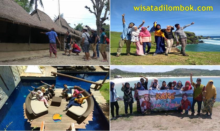 Mengunjungi  Pantai Kuta Mandalika, Rumah Adat Suku Sasak, Pantai  Tanjung Aan