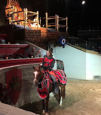 Medieval Times Toronto - Red Knight