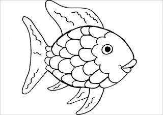 Ideas For Early Childhood Rainbow Fish Craft Ideas Printable Template