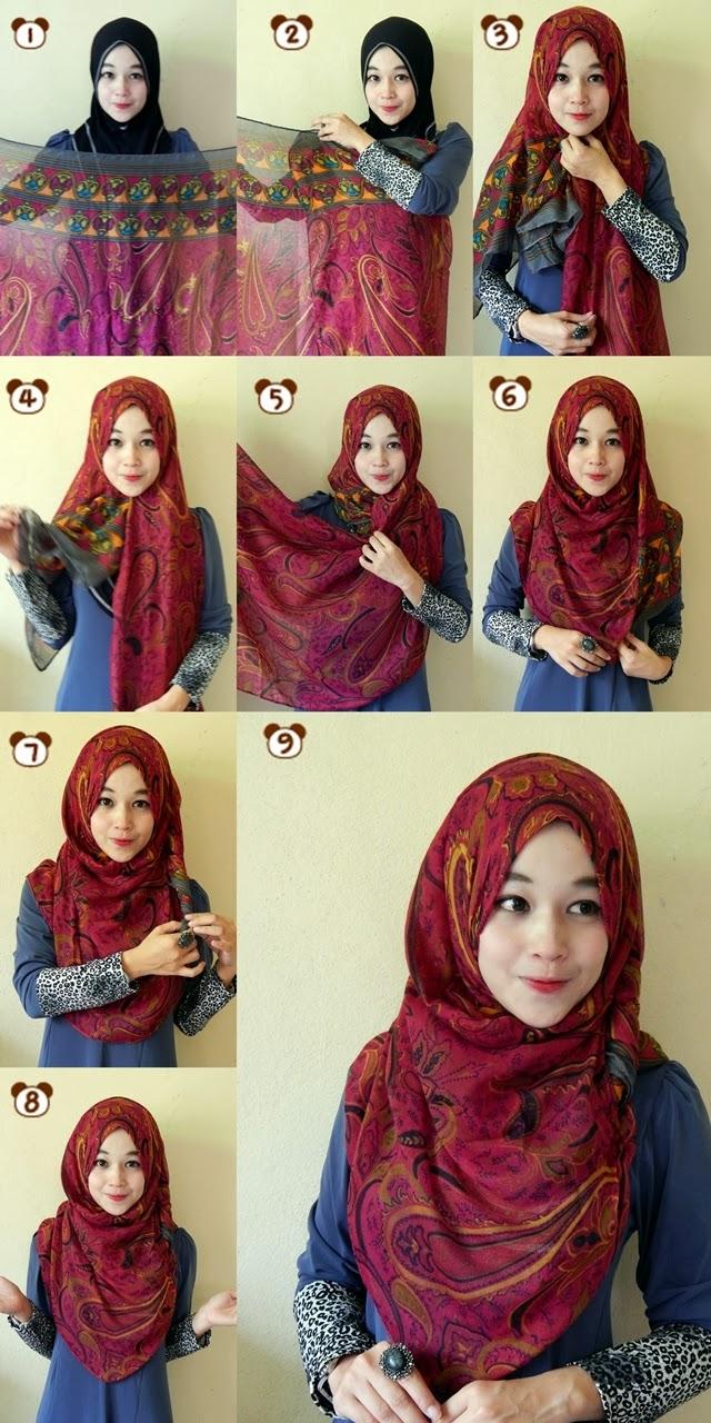 Nyobo Impor Blog Tutorial Hijab Wisuda