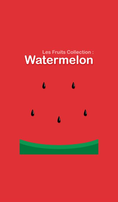 Les Fruits Collection : Watermelon