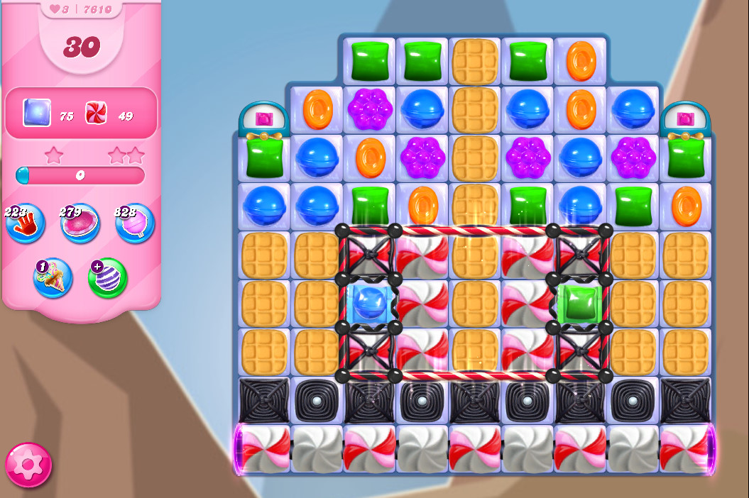 Candy Crush Saga level 7610