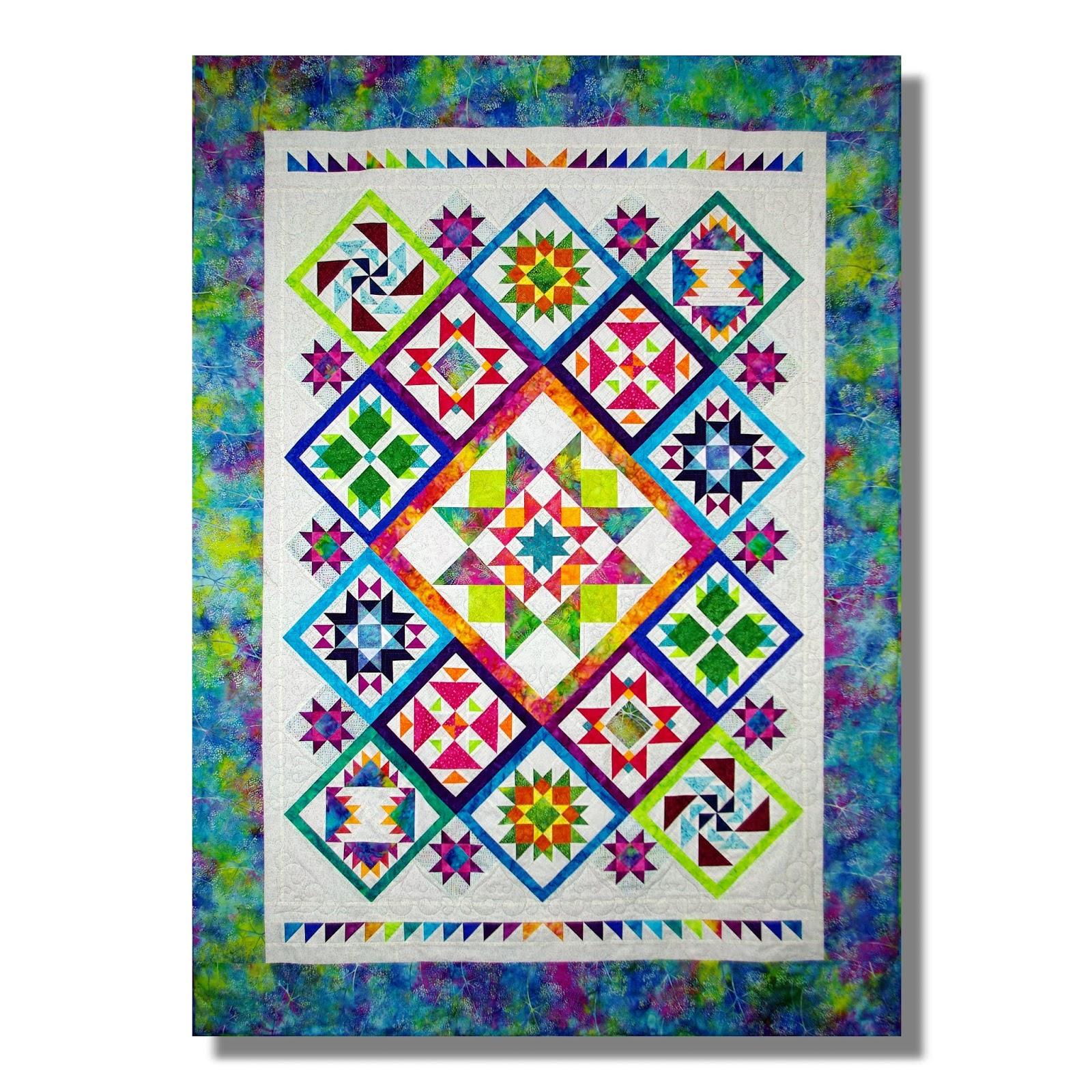timeless design 2d8d1 e73f0 Ich liebe beide Varianten. Gequiltet ist bisher leider nur die  Batik-Variante, denn ich quilte mal wieder von Hand und habe bei der  Auswahl der Muster immer ...