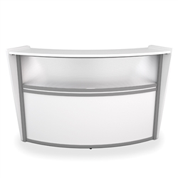 OFM Marque Reception Desk On Sale at OfficeAnything.com