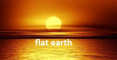Suasan senja-benarkah flat earth