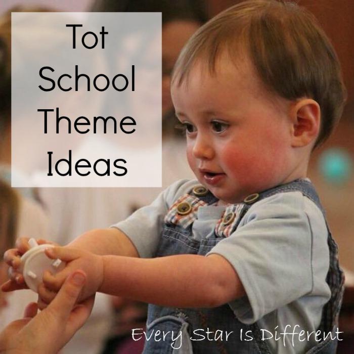 Tot School Themes