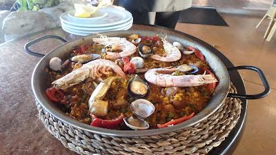 Selbstgemacht Paella Mallorca
