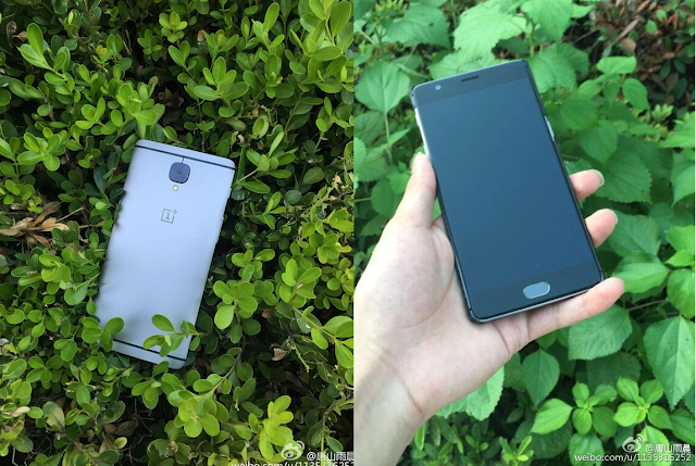 OnePlus 3 Real life images leaked online