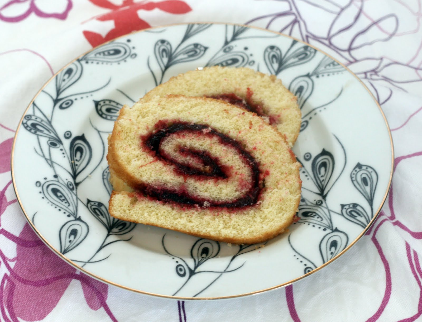 Recipes By Rachel Rappaport: Vanilla Bean Jelly Roll