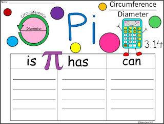 https://www.teacherspayteachers.com/Product/A-Pi-Three-Graphic-Organizers-3021546