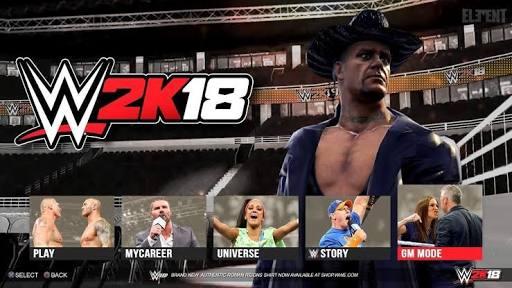Download WWE 2K18 – The legendary wrestling game back