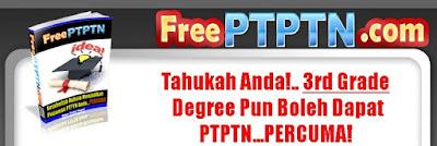 Cara Bayar PTPTN Dengan Percuma