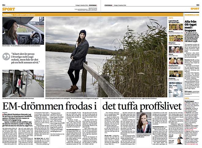 Idag publicerar Sydsvenskan ett reportage om Clara Monti Danielsson som jag  och Jan Jönsson gjorde förra veckan c95cdb6fb25bd