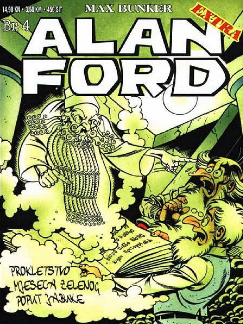 Prokletstvo mjeseca zelenog poput jabuke - Alan Ford