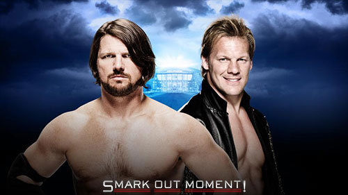 WWE WrestleMania 2016 AJ Styles vs Chris Jericho