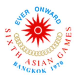Logo Asian Games Ke 8 Tahun 1978 Bangkok Thailand