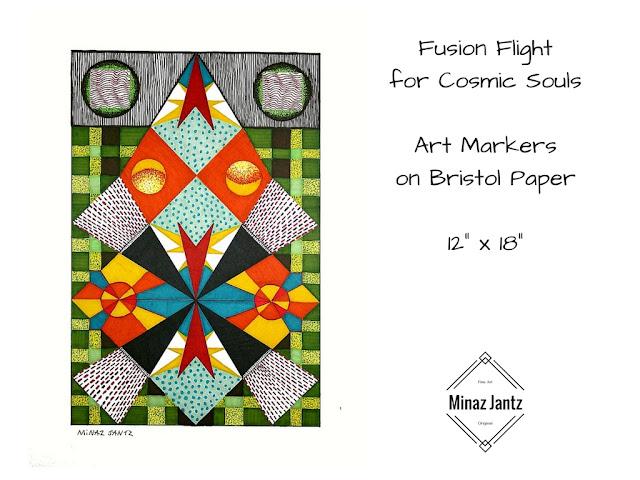Fusion Flight for Cosmic Souls by Minaz Jantz