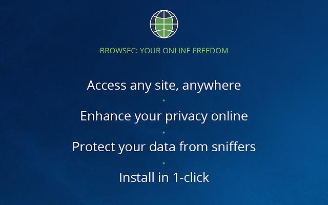 Browsec Google Chrome