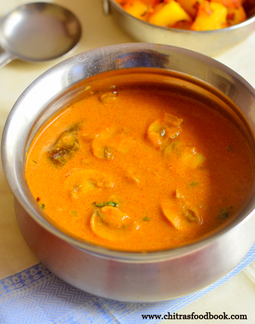 Kalan kuzhambu recipe
