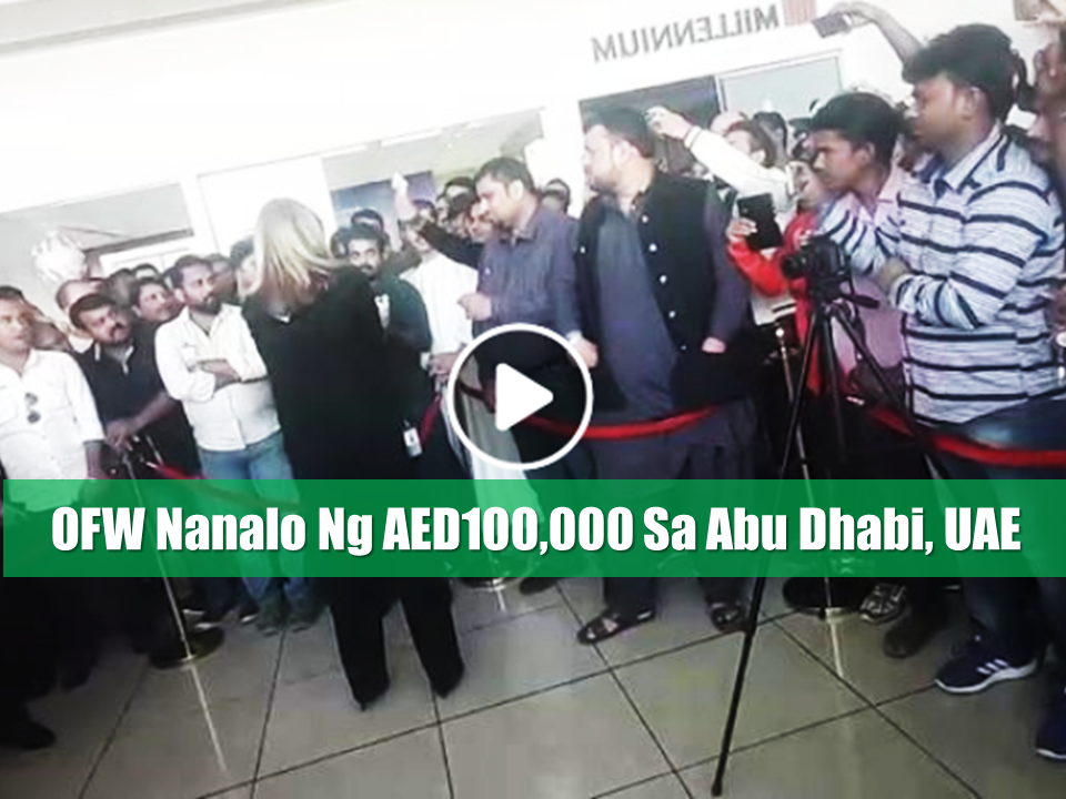 An Overseas Filipino Worker in the UAE has been one of the lucky winner of Dh100,000 (P1,356,045 approx.) in Abu Dhabi Duty Free's Big Ticket Millionaire Draw while an Indian national got the AED12 million, the biggest-ever prize money in its history, which was held on January 7, 2018, at the Abu Dhabi International Airport.  With his lucky ticket number 063520, Ronnie Guana was one of the fortunate raffle draw winners who will rock 2018 with a more than a million pesos in his pocket.  The grand prize Dh12 million was bagged by Hari Krishnan from India. His ticket number 086828 was drawn out.  Four other Indians and a Nepali have also taken home some incredible prizes.  Sponsored Links  Here's the full list of the lucky winners:  Dh12million Hari Krishnan from India Dh100,000 Ronnie Guana from the Philippines Dh90,000 Minor Khor from India Dh80,000 Rogish Kumar from India Dh70,000 Abelash Sashi from India Dh60,000 Anil Betile from India Dh50,000 Dasuli Chow from Nepal  The Big Ticket 'Dream 12' competition started last December   Advertisement  Read More:           ©2017 THOUGHTSKOTO