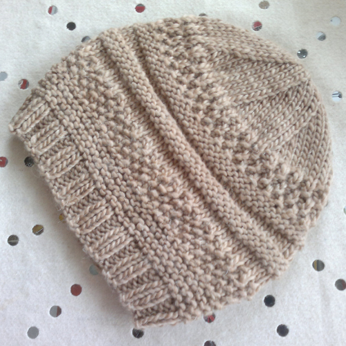 Simple Sample Hat - Free Pattern