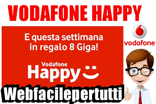 Happy Friday | Vodafone regala 8 GB di internet gratis per il week-end