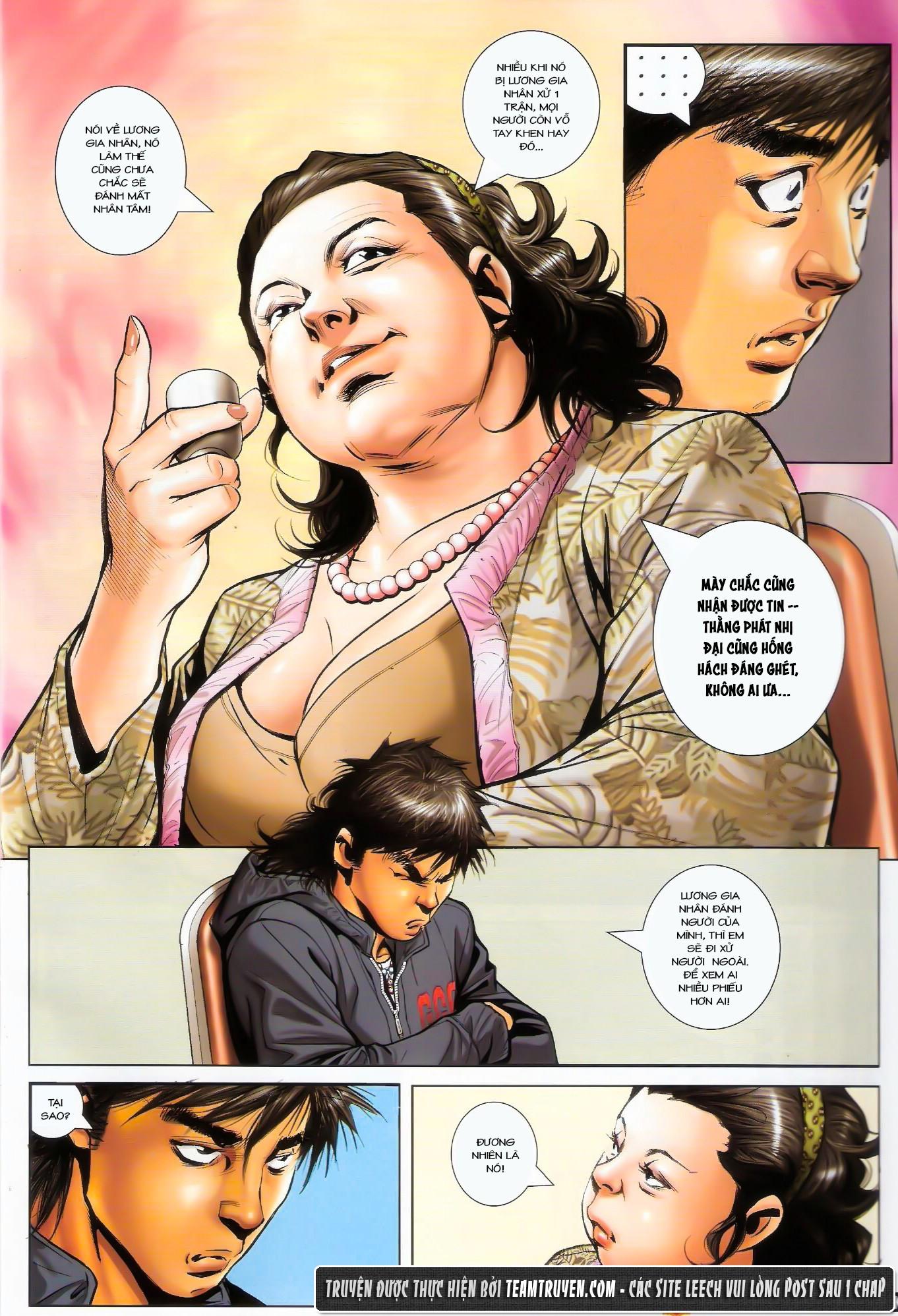 Người Trong Giang Hồ NetTruyen chap 1487 - Trang 9