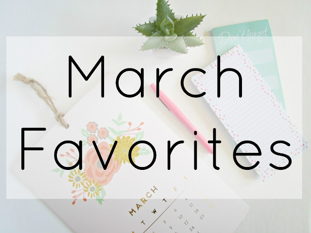 March Favorites from Courtney's Little Things