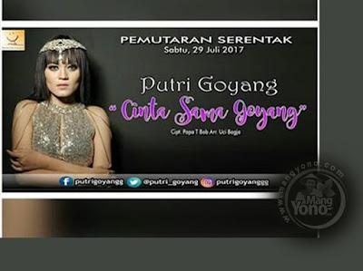 Pemutaran Serentak Lagu Cinta Sama Goyang - Putri Goyang Subang - Cipt. Papa T Bob