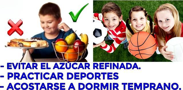 Tipos para evitar que los niños sufran de obesidad y otras enfermedades