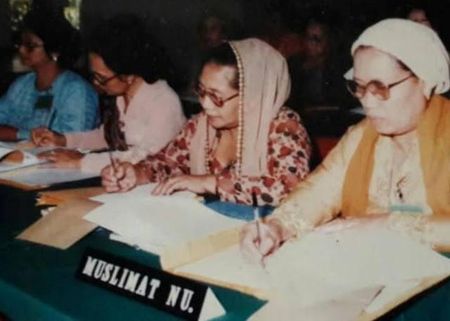 Nenek, Ibu dan Para Tante di Muslimat NU