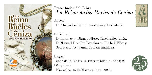 La reina de los Bucles de Ceniza, de Alonso Carretero La Morera