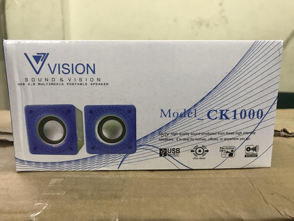 70k - Loa vi tính Vision CK1000 giá sỉ và lẻ rẻ nhất