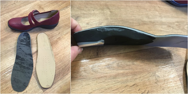 My orthotic insoles