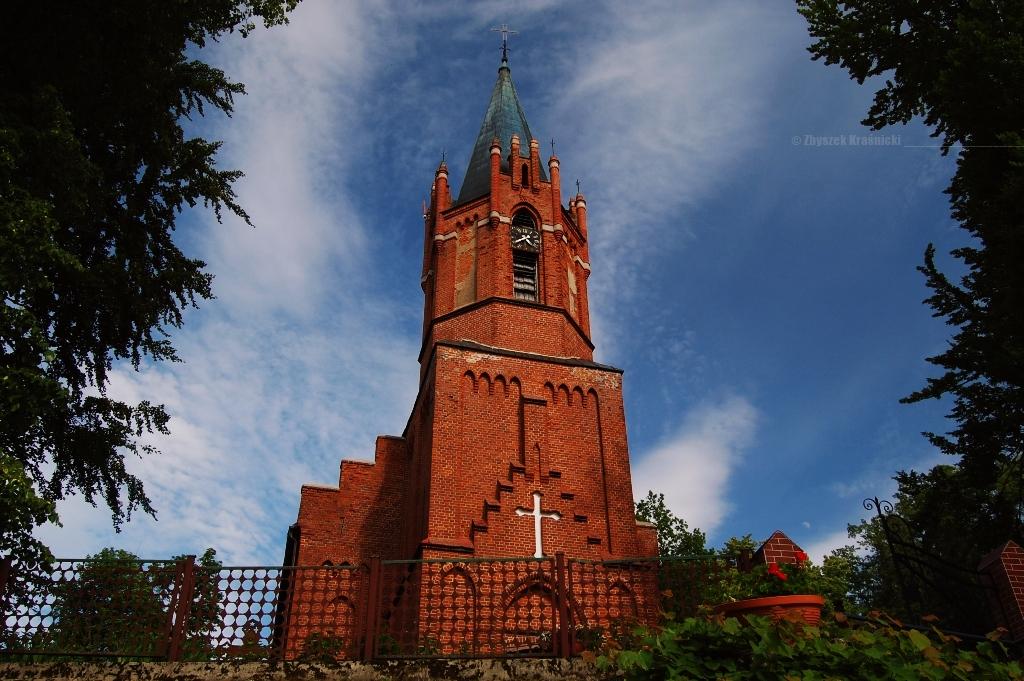 Warmińskie kościoły, Frączki